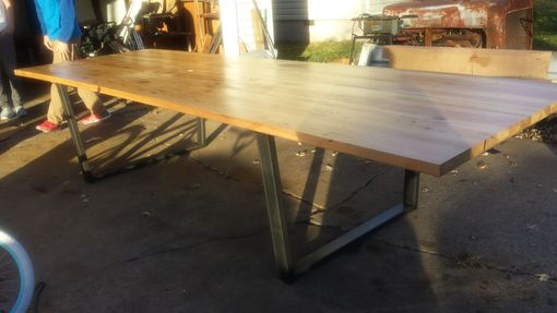 Custom Made Industrial Reclaimed Conference Table