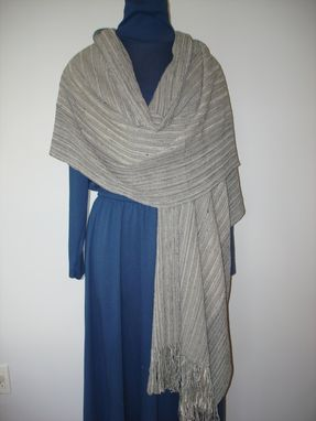 Custom Made Hand Woven Ribbon Shawl
