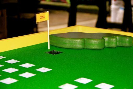 Custom Made Table Top Golf Course