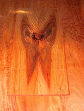 Custom Made Bloodwood Butterfly Table