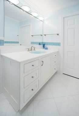Custom Made Custom Built-In Vanity And Cupboards