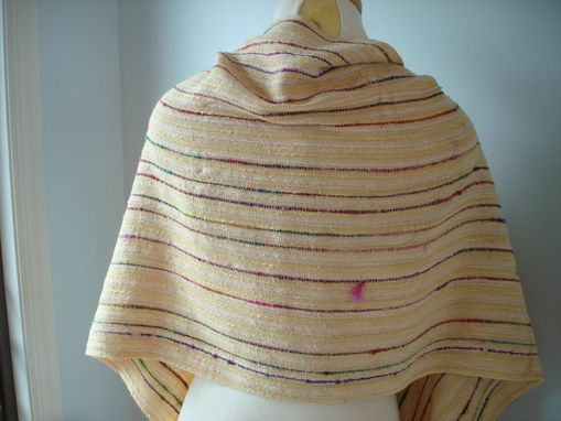 Custom Made Sunflower Hand Woven Shawl