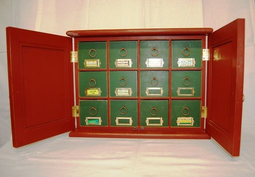 Custom Made Tea Cabinet