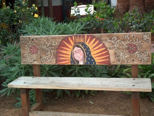 Custom Made Virgin De Guadalupe Art