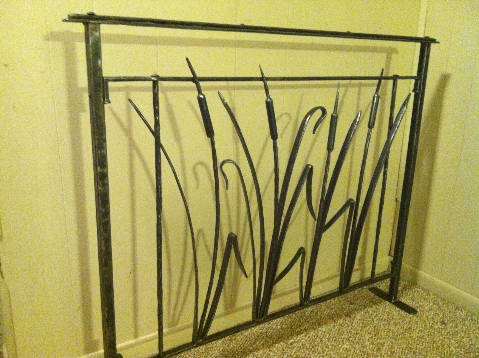 Custom Cat Tail Railing by Iron Boar Metal Works | CustomMade.com