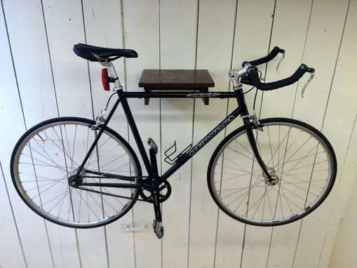 Custom Made Modern Indoor Bike Shelf