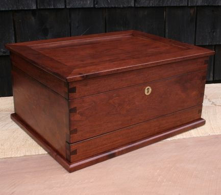 Custom Made Cherry Jewelry Box For Jewelry Collectors