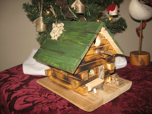 Custom Made The Fern Cottage Ii Birdhouse