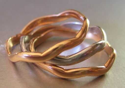 Custom Made Wedding Rings. 14karat Gold Bands.