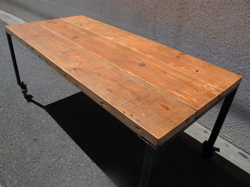 Custom Made Reclaimed Firwood Table