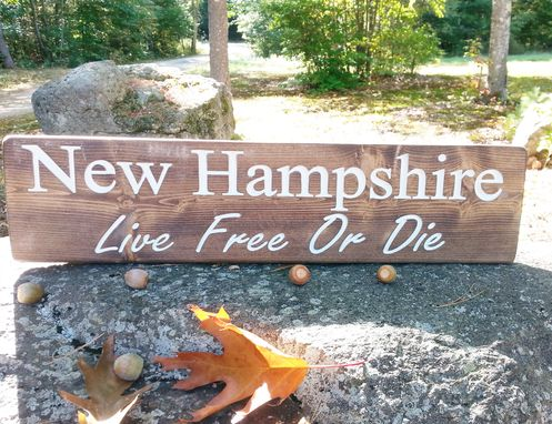 Custom Made Customized State Sign