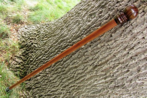 Custom Made Walking Stick / Walking Cane - East Indian Rosewood, Ebony, And Bolivian Rosewood