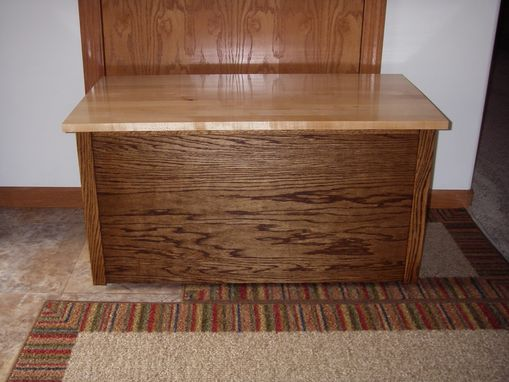 Custom Made Blanket Chest (Or Toy Chest)