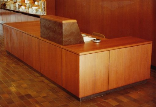 Custom Made Corporate Reception And Telephone Operator Counter