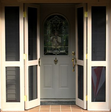 Custom Made Foyer Screen Door