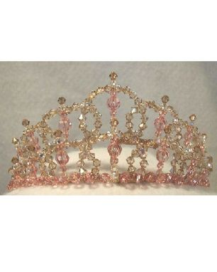 Custom Made Custom Designed Crystal Bridal Tiara And Jewelry