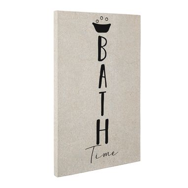 Custom Made Bath Time Canvas Wall Art