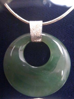 Custom Made Jade Pendant