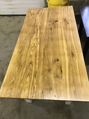 Custom Made Solid Hardwood Farmhouse Table