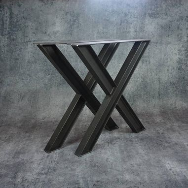 Custom Made Steel Table Legs
