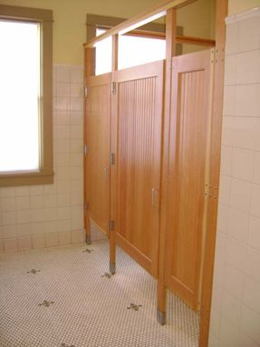 Bathroom Doors Commercial hand crafted commercial bathroom stall doorslacey door