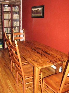 Custom Made Reclaimed Chestnut Tables