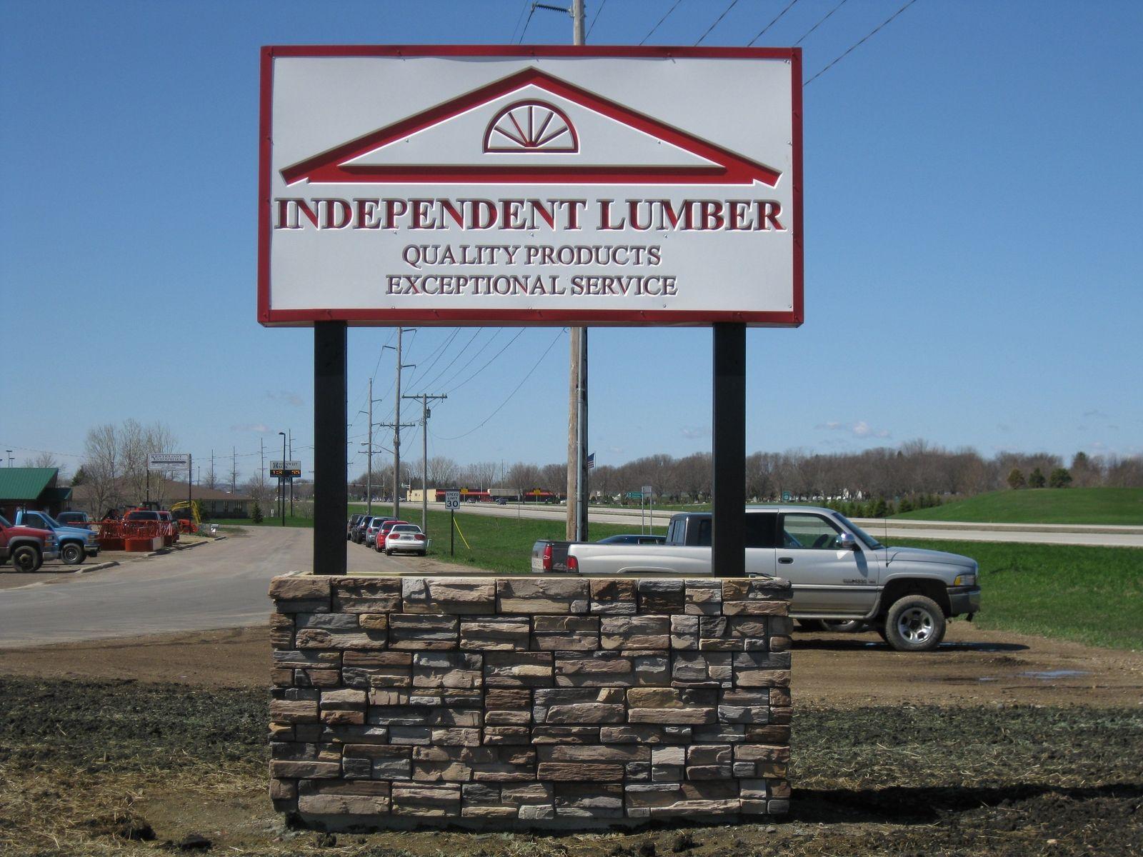 Custom Lumber Yard Sign By Lees Country Woods