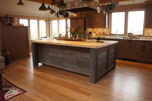 hand crafted rustic kitchen islandatlas stringed instruments