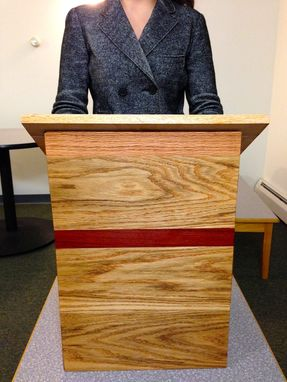 Custom Made Oak Podium