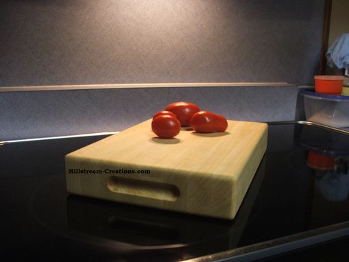 Custom Made Hard Rock Maple Cutting Board 10