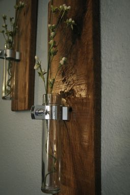 Custom Made Wall Mounted Flower Holders