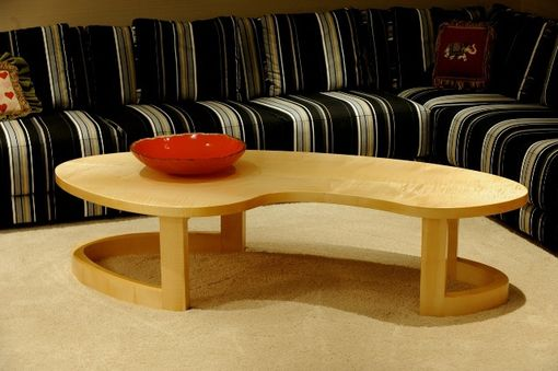 Custom Made English Sycamore Coffee Table