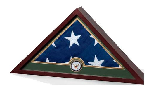 Custom Made Flag Frame - Army, Army Flag Display Case