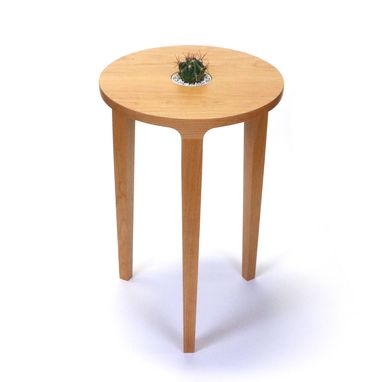 Custom Made Mesa Accent Table With Built-In Planter