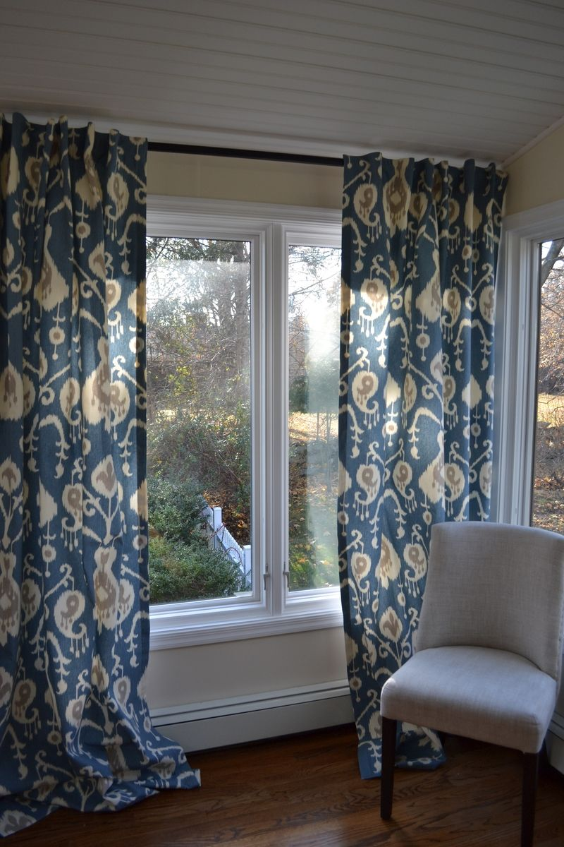 Hand crafted window curtains custom drapes very elegant for Unique drapes and curtains