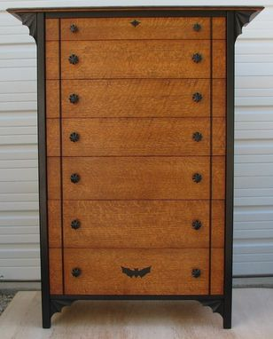 Custom Made High Boy Dresser
