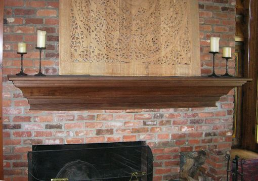 Custom Made Built-Ins And Mantels