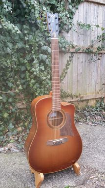 Custom Made Amazon Rosewood Back And Sides With A Cedar Top Made By Luthier Ike Wilhelm
