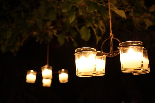 Custom Made Candleabras & Chandeliers For Votive Candles