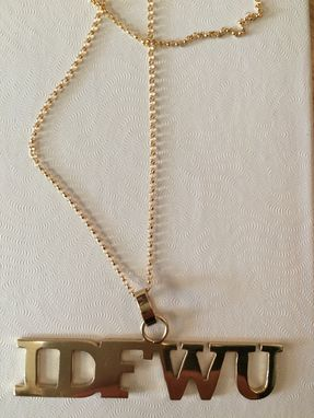 Custom Made Personalized Necklace