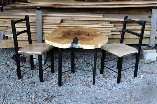 Custom Made Maple Cookie Table & Chairs