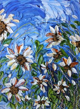 "Custom Made ""Dream A Little Dream"" Impasto Painting"