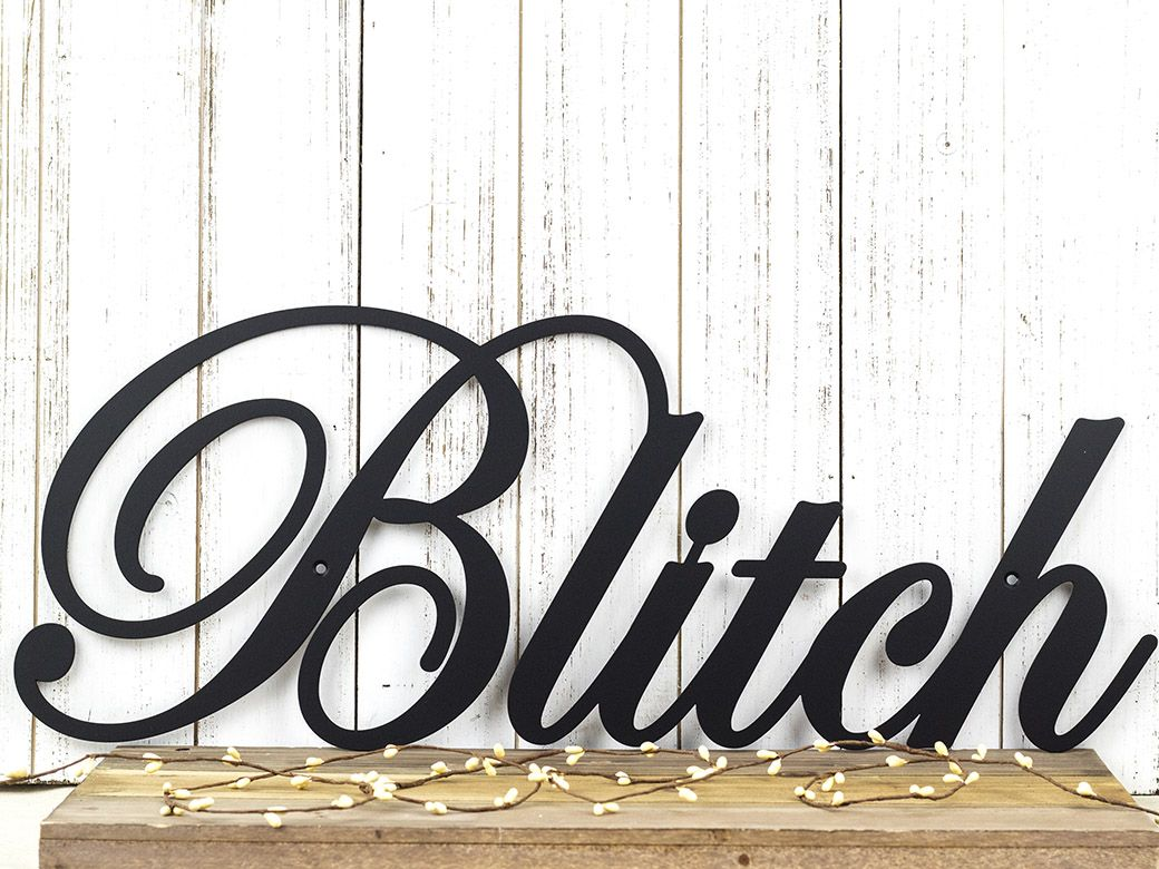 buy a hand crafted family name metal sign family last name sign