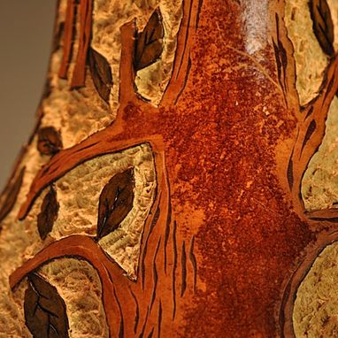 Custom Made Gourd Lamp Tree Design