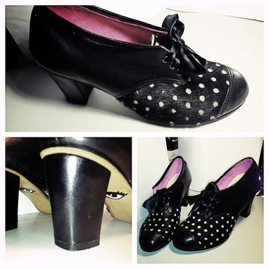 Custom Made Custom Woman's Derby Shoe