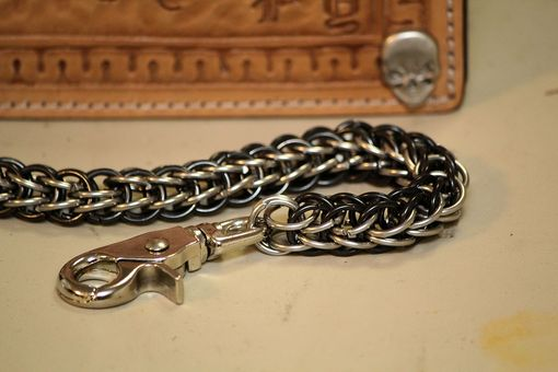 Custom Made Custom Made By Hand Chainmail Trucker Biker Wallet Chains