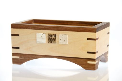 Custom Made Box No. 25 - Small Wooden Box With Lid