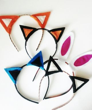 Custom Made Animal Ears Costumes Or Photo Booth Props