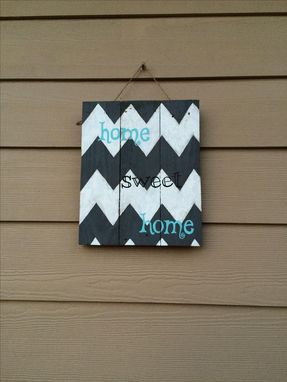 Custom Made Rustic, Reclaimed Home Sweet Home Sign