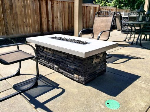 Custom Made Outdoor Fire Pit